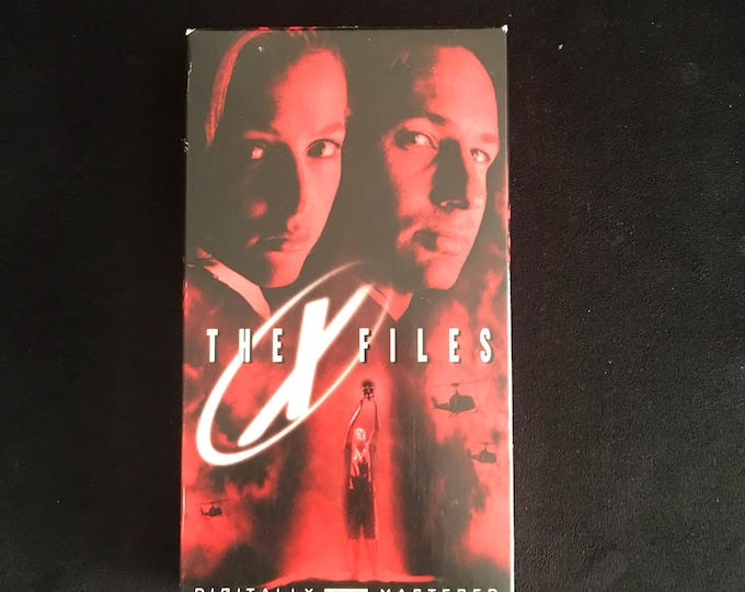 THE XFILES 1990's Vintage Movie VHS