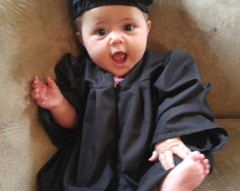Baby Graduation Gown & Cap - Made to order