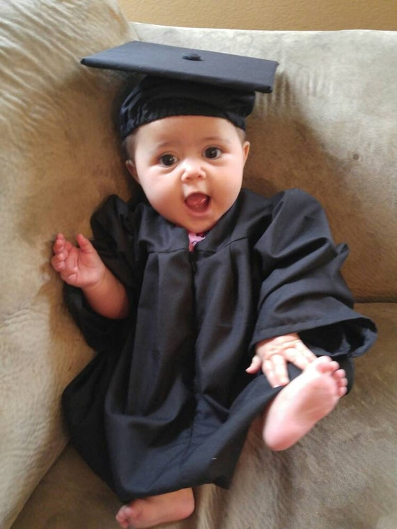 Baby Graduation Gown & Cap Made to order