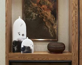 Abstract Art Original Resin Painting Resin Art Painting Fluid Painting Shiny Art Modern Home Decor Wall Art Canvas by Julia Kotenko