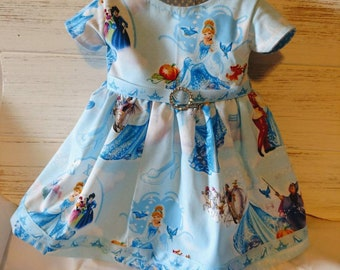 "18"" doll princess dress"