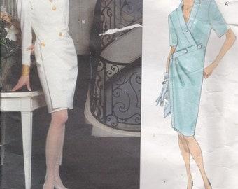 ON SALE Vogue Paris Original Pattern - Givenchy 2661 Misses Dress Size 8-12 Factory folded and complete