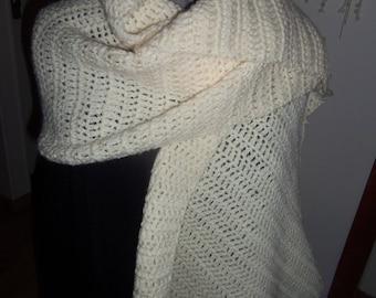 ecru scarf