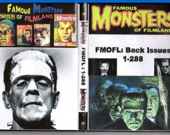 Famous Monsters of Filmland on DVD-Rom Collection-Issues 1-288