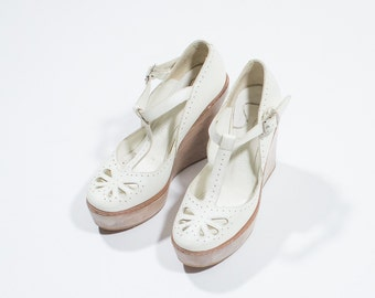 CHLOE '-white leather shoes-white leather shoes