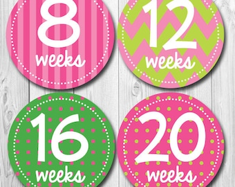 Maternity Stickers, Baby Bump, Pregnancy, Pregnancy Announcement, New Mom Stickers, Baby Photo Op Stickers
