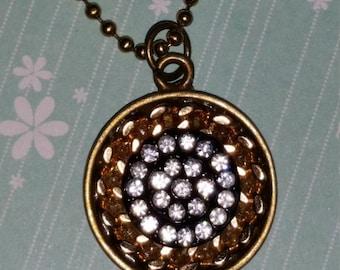 Button Chain Necklace