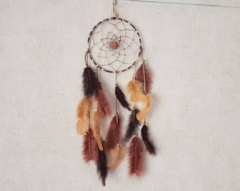Dream catcher brown tones / actual 45 cm