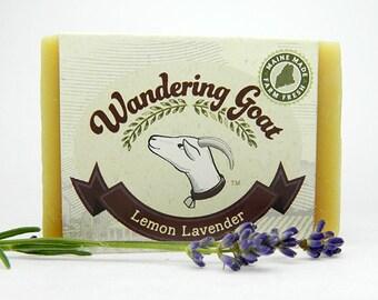 Lemon Lavender Goat Milk Soap