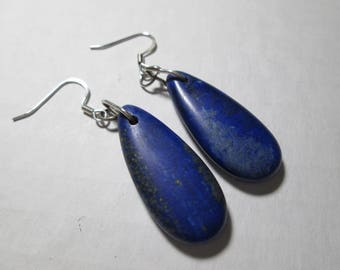 Earrings... Lapis dangles....
