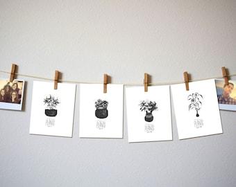 Tiny Plants Prints