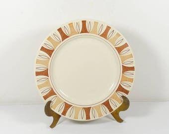 Taylor Smith and Taylor Etruscan Dinner Plate - Midcentury Modern TS&T TSTETR