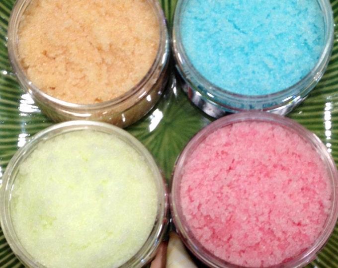 Sweet Sugar Scrub-You choose the scent/Kiwi, Watermelon, Strawberry and more!