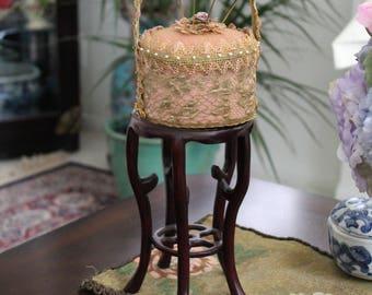 Pincushion/Decorative One of a Kind Design Piece