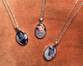 Kurt Cobain Cameo Necklaces