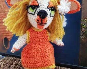 "Handmade doll collection ""Hatdog""-model Danda"