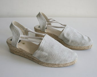Sesto Canvas Cotton Sandals 8