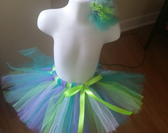 Teal, Lavender, Lime Green, and White Tutu, Buzz Lightyear Tutu