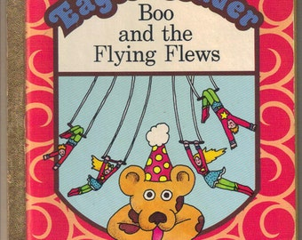 Boo and the Flying Flews Eager Reader Little Golden Book 1974 Joan Chase Bacon