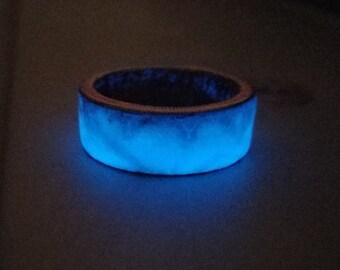 Nickel Clad Half Dollar Glow ring