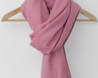 Cashmere / Silk Blend Oversized Scarf