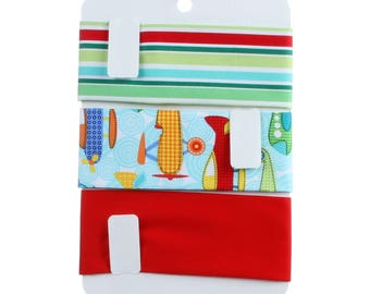 "Fabric Organizer Shorty 10.5"" x 7"" - Pack of 6"