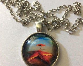 Starfish Beach Cabochon Necklace Gift-i11