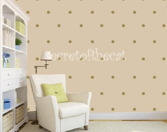 Nursery Wall Decal. Dots Decal. Confetti .Geometric Pattern Decal. Gold dots decal. Wall Decal Nursery. Baby decal. Wall Pattern