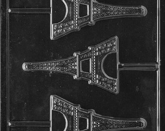 LOPM-155 - Eiffel Tower Chocolate Lollipop Mold