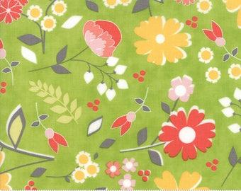 Flower Mill Sprig Bloomy Yardage  SKU# 29030-18  Flower Mill by Corey Yoder for Moda Fabrics