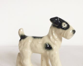 Vintage Fine Bone China Dog