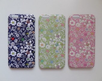Liberty fabric iPhone & Samsung Galaxy case - June's Meadow