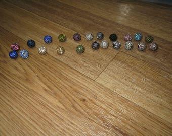 Rhinestone Round Balls 10MM (see below)