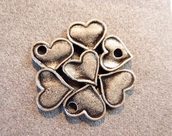 Grey metal for jewelry making charm