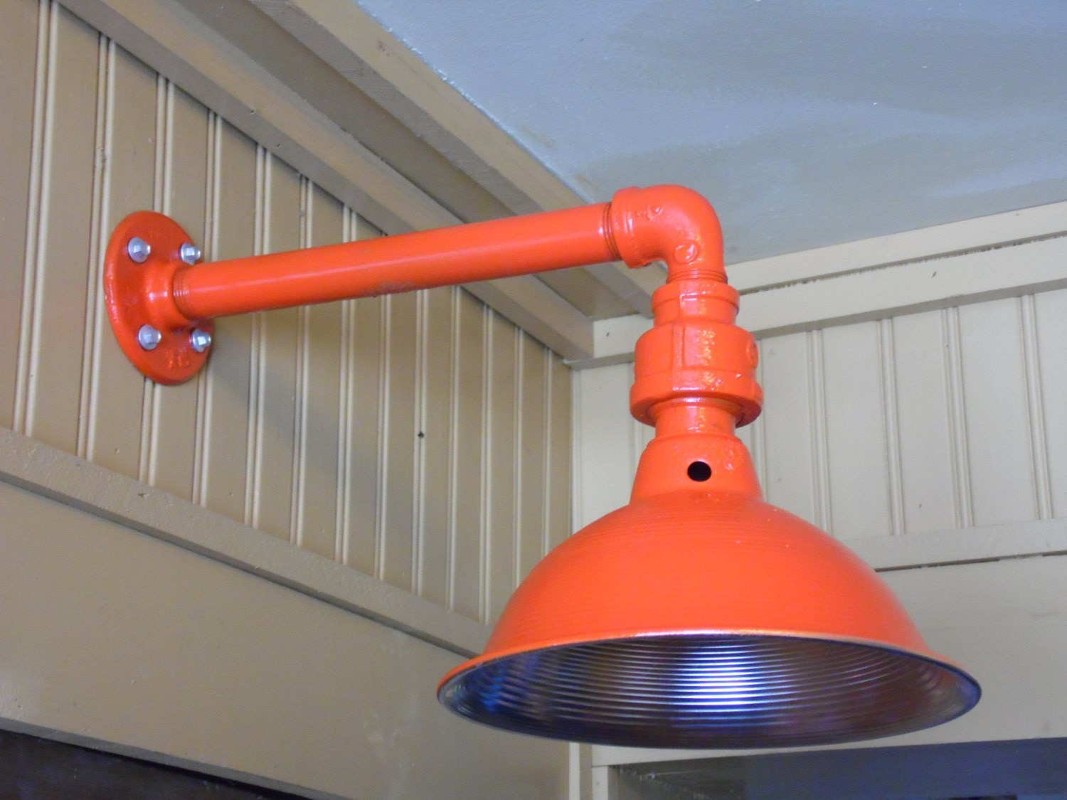Custom colored light fixture sconce barn light industrial zoom arubaitofo Image collections
