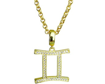 gemini annoushka pendant mythology com gold us