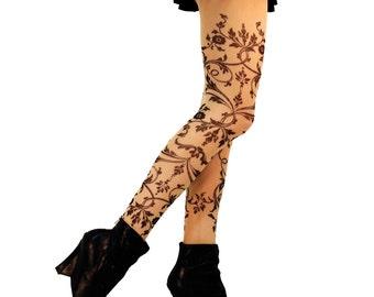 Delicate Filigree Leggings