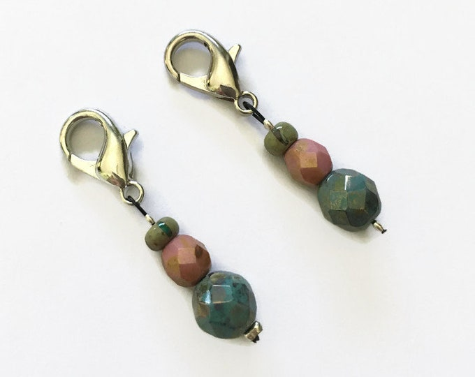 Position markers - markers - stitch markers for knitting and crochet - guards stitches