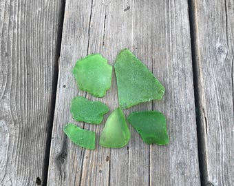 Green SEA GLASS Collection