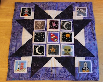 Bead-It-Forward Space Themed Quilt BIF26