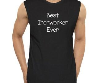 Best Ironworker ever Sleeveless T-Shirt