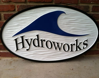 Custom Carved Business Signage - Dimenstion Retail Store Front