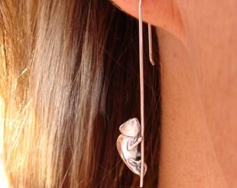 Pole Dancing Chameleons Earrings drops