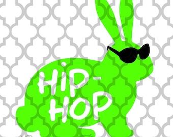 Hip Hop Easter bunny svg
