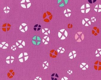 Cotton + Steel - Rashida Coleman Hale - Mochi - Hot Cross Buns - Dark Plum