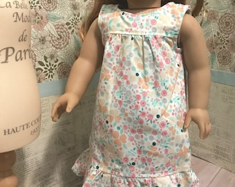 Empire Waist Dress for 18 inch Doll