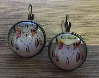 """Earring """"ice spirit"""""""