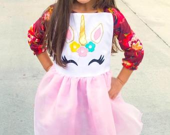 Unicorn Inspired Dress Up Apron