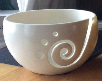 Yarn Bowl Plain (Variety of Available Colours)