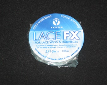 """Vapon Lace FX 5/16"""" X108"""" Adhesive Tape Roll (5/16"""" X 3YD) for Wigs,Toupee,Hair Piece."""